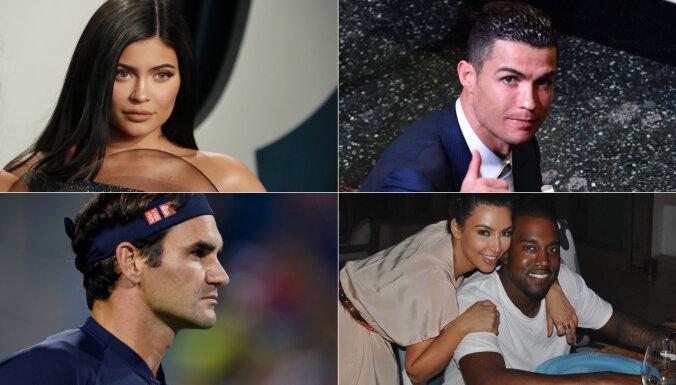 'Forbes' nosauc šobrīd pasaulē vislabāk apmaksātās slavenības