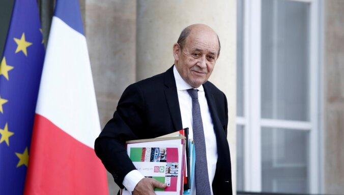 Pandēmija apdraud daudzpusējo pasaules kārtību, brīdina Francijas ministrs