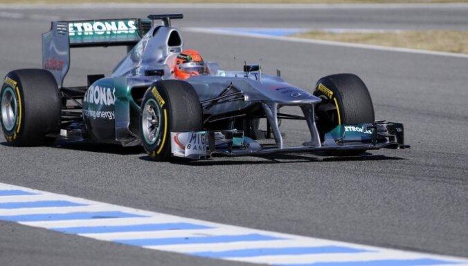 Шумахер сенсационно выиграл квалификацию в Монако и оштрафован
