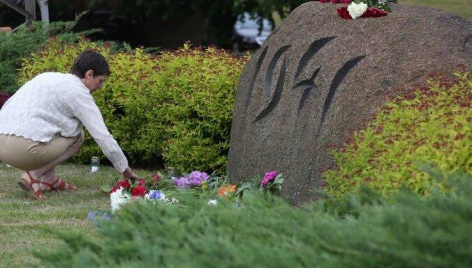 Komunistiskā genocīda upuru piemiņai reģionos rīkos atceres pasākumus
