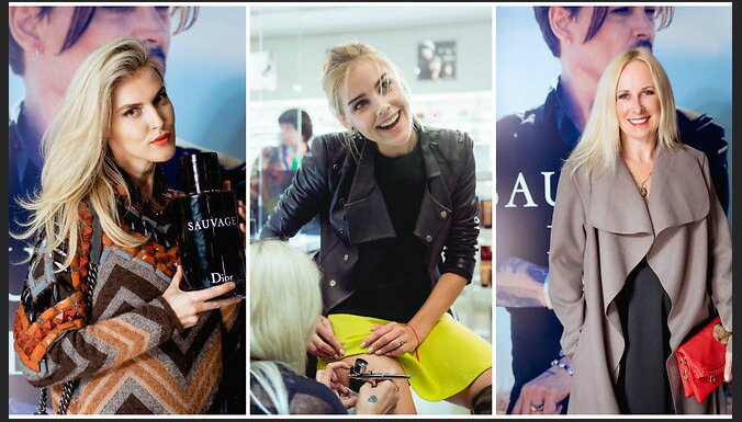 ФОТО: Дикость и необузданность, тату и Джонни Депп — в Риге прошла презентация Dior Sauvage