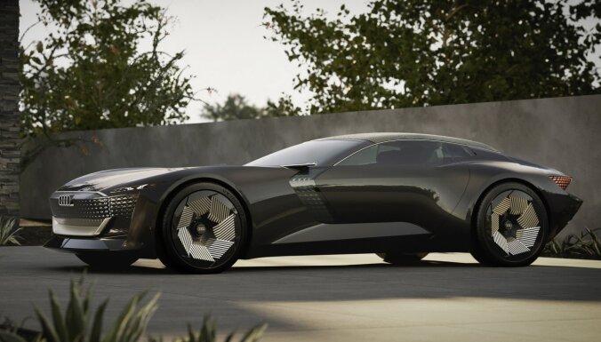 'Audi skysphere' konceptauto vadītājs var mainīt spēkrata garumu par 25 cm