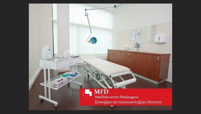 Ķirurģijas un traumatoloģijas dienests nāk palīgā