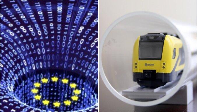 Eiropas diena: 'Digitālā Eiropa' un ko darīt, ja tu nenokavē vilcienu, bet vilciens nokavē tevi?