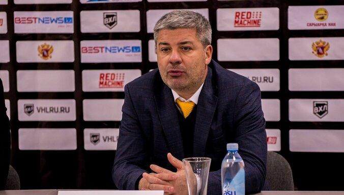 Rīgas 'Dinamo' trenera amata kandidāts Tambijevs vadīs KHL vienību 'Admiral'