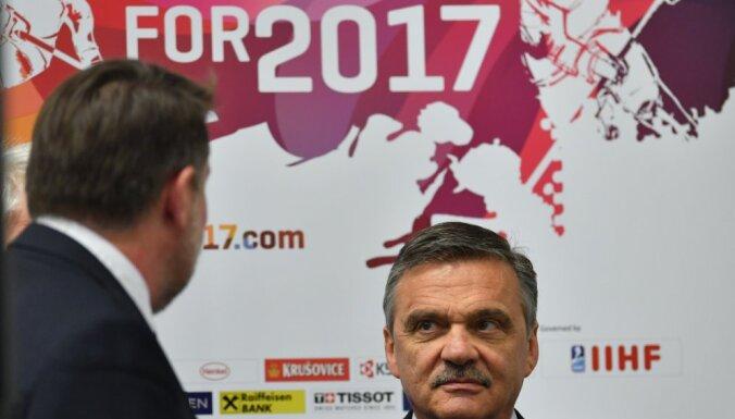 President of the International Ice Hockey Federation Rene Fasel