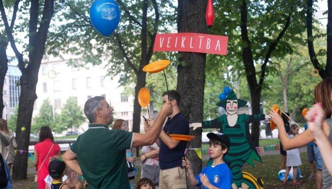 Laikmetīgā cirka festivālā 'Re Rīga!' būs īpaša programma bērniem