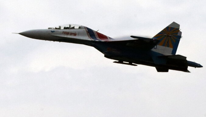 Россия показала перехват самолета ВВС Швеции над Балтийским морем