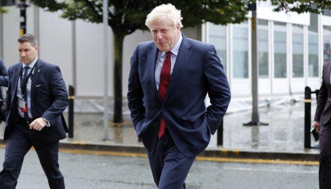 Lielbritānija nāks klajā ar jaunu 'Brexit' projektu, paziņo Džonsons