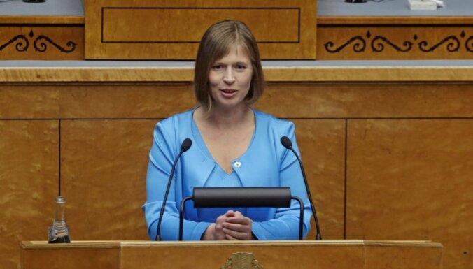 Lietuvas ministre par bijušo kolēģi: Igaunijai būs drosmīga prezidente