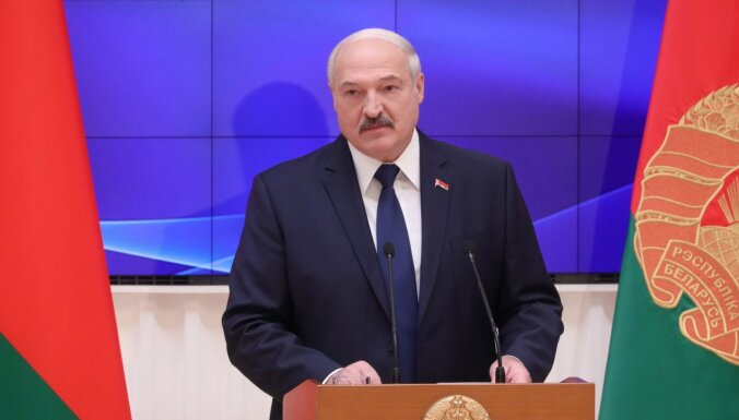 Baltkrievija negrasās kļūt par daļu no brālīgās Krievijas, paziņo Lukašenko