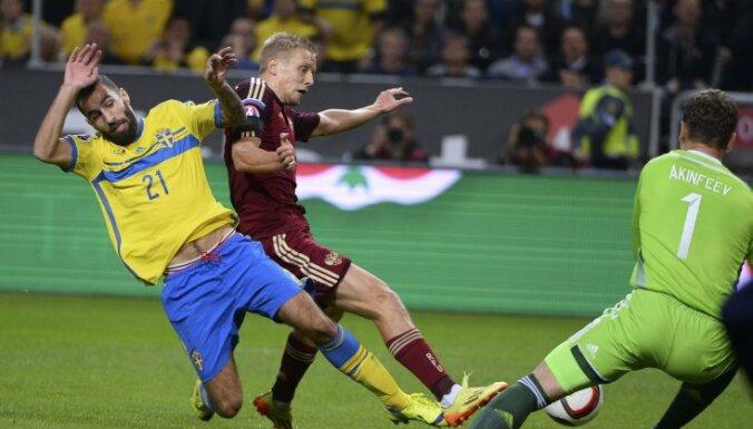 ВИДЕО: Акинфеев отразил пенальти, но Россия не удержала победу в Швеции
