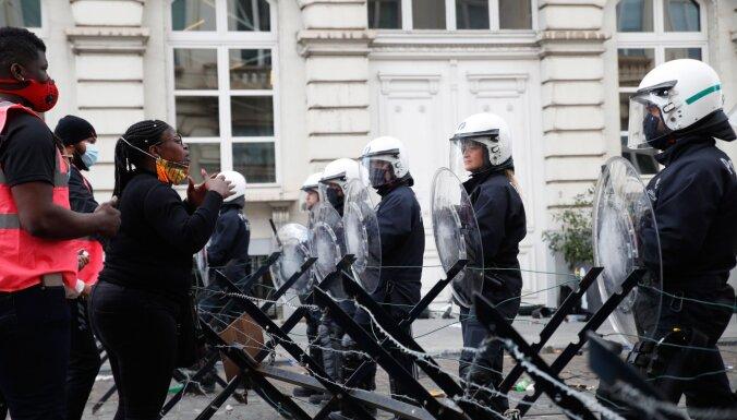 В Брюсселе после воскресных беспорядков задержаны 239 погромщиков