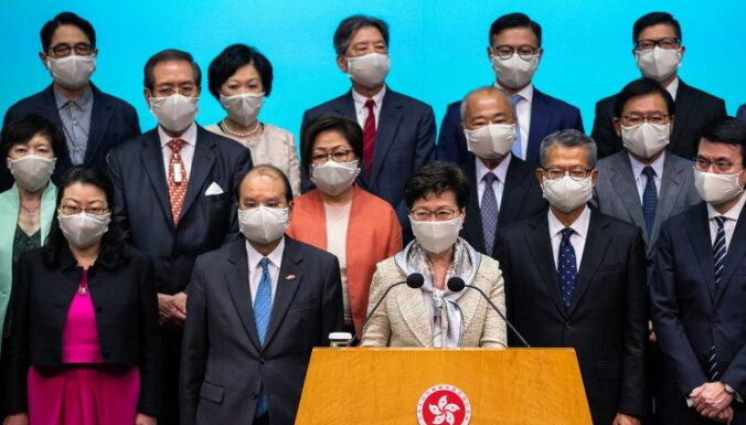 Китай принял закон о национальной безопасности Гонконга