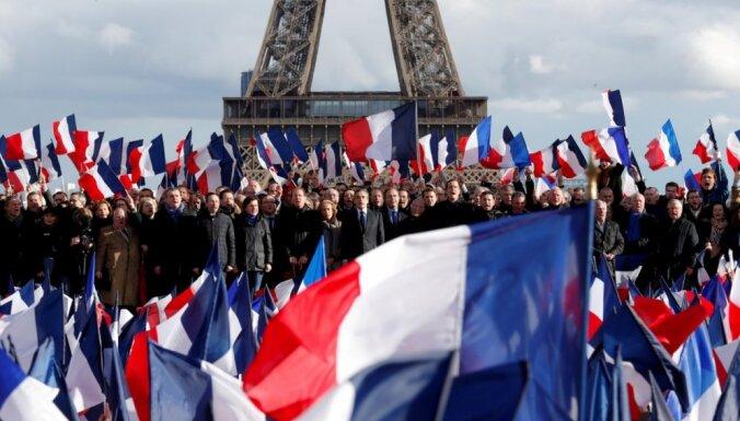Francijas prezidenta vēlēšanu pirmajā kārtā būs 11 kandidātu