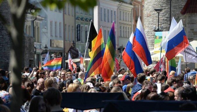 ФОТО: Фестиваль ЛГБТ-культуры Baltic Pride в Таллине
