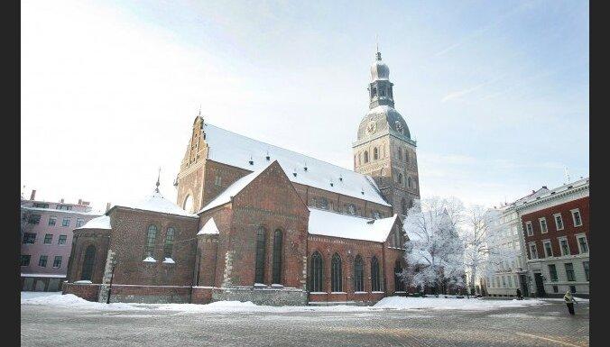 В Риге началась реставрация Домского собора
