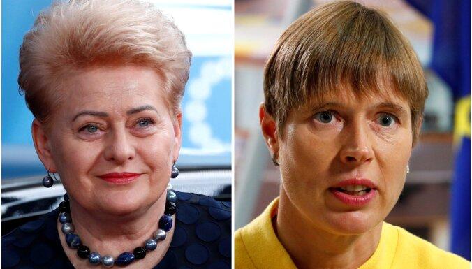 Kaljulaidu un Grībauskaiti min starp ticamākajām kandidātēm NATO ģenerālsekretāra amatam