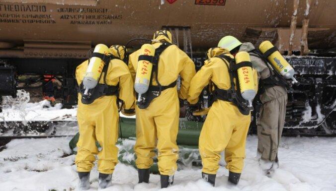 Фоторепортаж: учения LDz по ликвидации крупной аварии