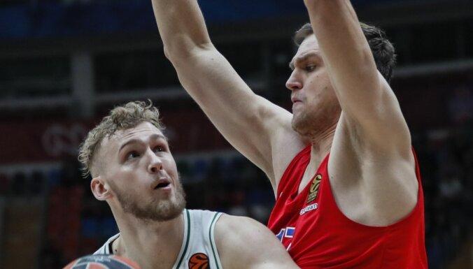 'Žalgiris' basketbolists par katru 'danku' un trīspunktnieku ziedos Austrālijai