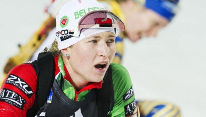 Домрачева не дала Нойнер выиграть последнюю гонку в карьере