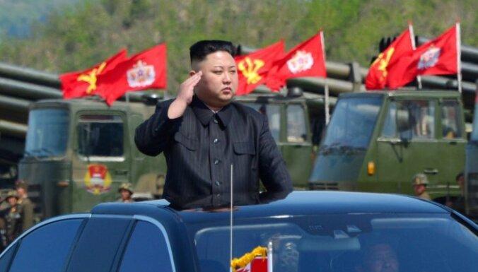Ziemeļkoreja, iespējams, veikusi jaunu raķešu izmēģinājumu