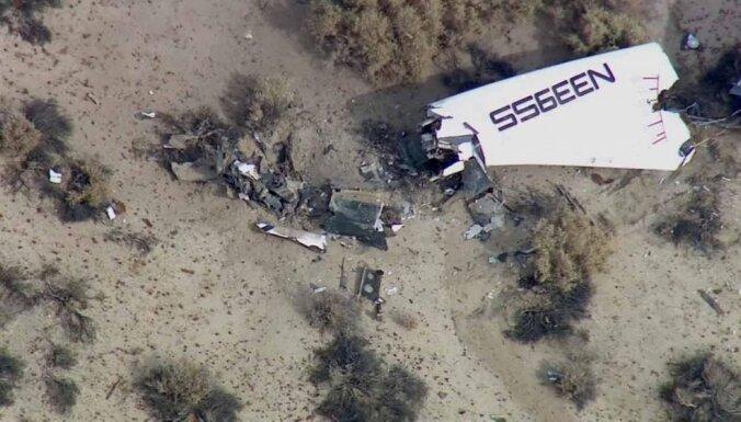 В пустыне разбился суборбитальный корабль Virgin, погиб пилот
