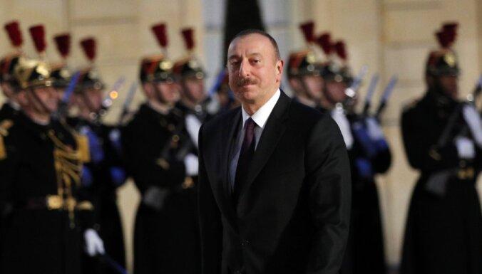 Президент Азербайджана заявил о взятии части Нагорного Карабаха