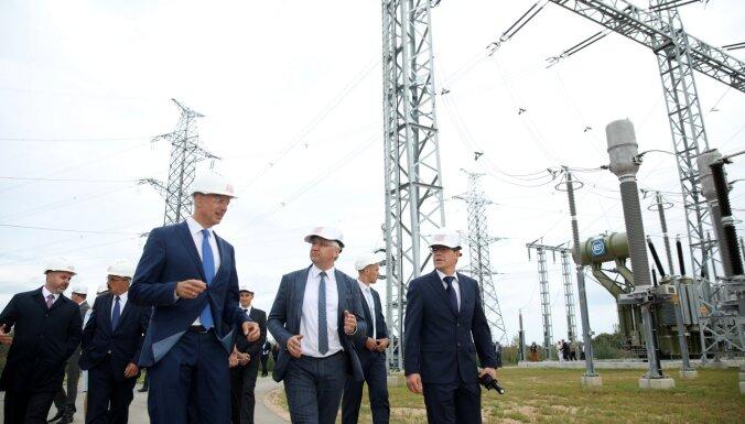 Foto: Pabeigts viens no vērienīgākajiem enerģētikas projektiem kopš neatkarības atjaunošanas