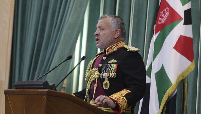 Jordānijas karalis brīdina par 'Daesh' nostiprināšanos