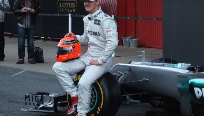 Šūmahers uzvar Monako GP kvalifikācijā; pirmais startēs Vēbers