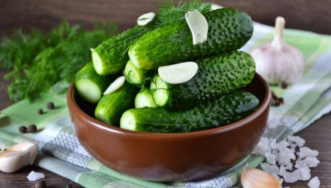 Sezonas produkts – mazsālītie gurķi: trīs metodes nevainojamam rezultātam 30 minūtēs