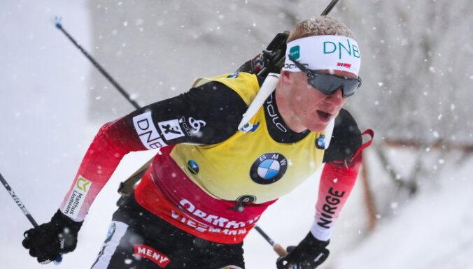 Йоханнес Бе выиграл гонку преследования, Фуркад и Логинов — вне подиума