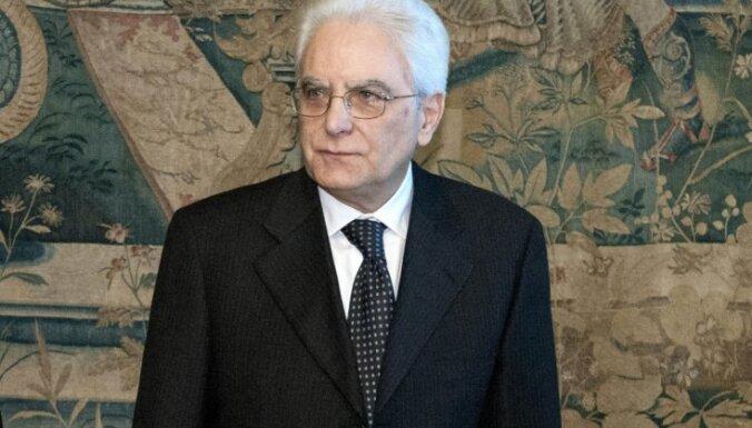 Itālijai jauns prezidents - Konstitucionālās tiesas tiesnesis Serdžio Matarella