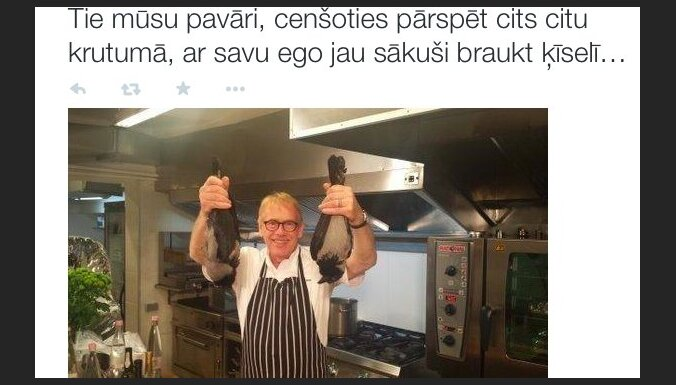 Latvijas putnu draugi šokā: Rītiņš gatavo vārnas