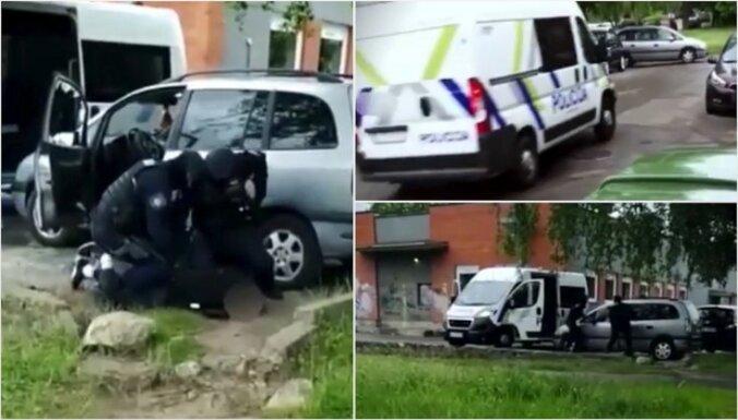 Video: Imantā aizturēti četri narkodīleri