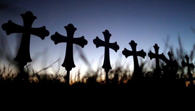 Вандалы осквернили кладбище: с могил похитили несколько крестов