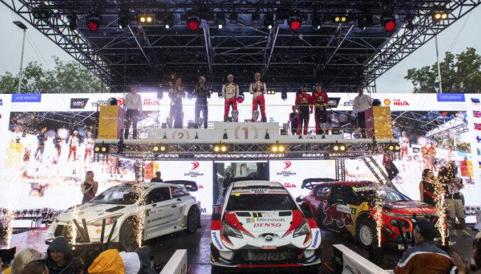 Arī Igaunijā mēģinās sarīkot WRC posmu jau 2020. gadā