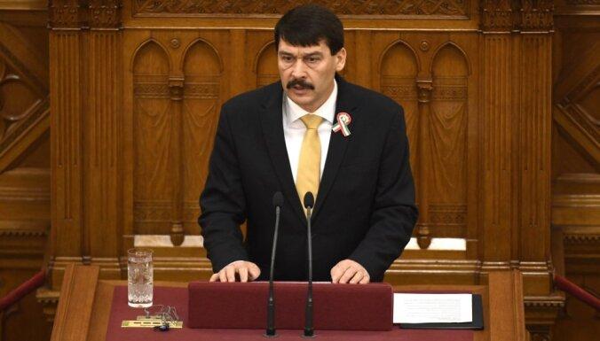 Āderu atkārtoti ievēl par Ungārijas prezidentu