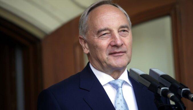 Valsts prezidents par jaunas valdības veidošanu sarunas sāks nākamnedēļ