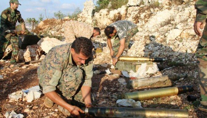 Сирийская армия при поддержке российской авиации пошла в атаку под Хомсом