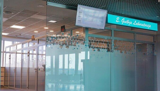 "В аэропорту ""Рига"" на месте ресторанов открылся пункт E.Gulbja laboratorija"