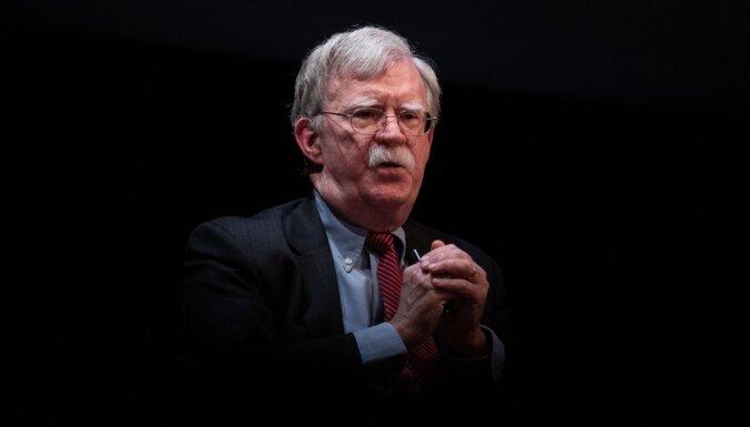 ASV tiesa atļauj publicēt Boltona memuārus