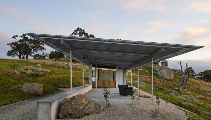 ФОТО. Дом в Австралии, который выглядит как автобусная остановка