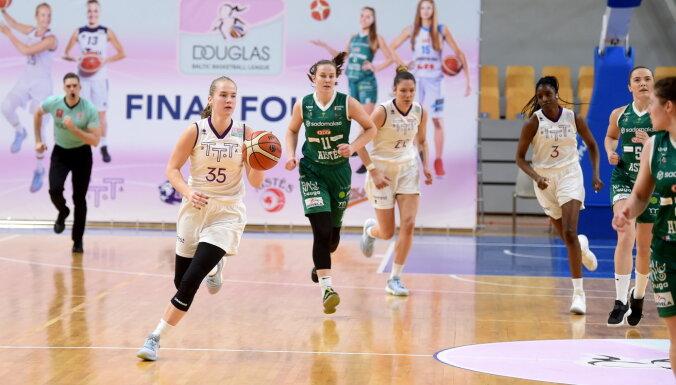 'TTT Rīga' basketbolistes triumfē Baltijas līgā