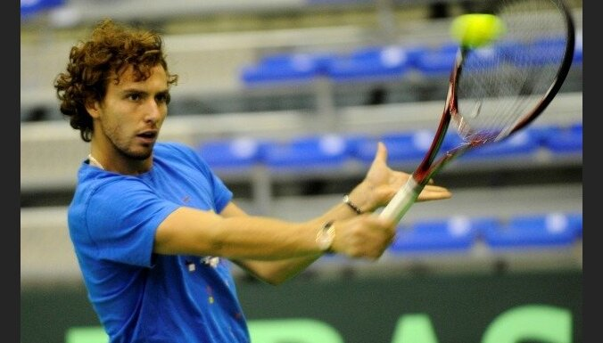 Gulbim grūta uzvara Romas 'Challenger' sērijas turnīrā