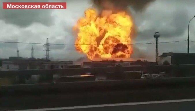 Ugunsgrēkā pie spēkstacijas Krievijā bojāgājušais un cietušie