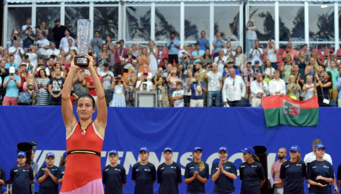 ФОТО: Севастова выиграла первый в истории Baltic Open в Юрмале