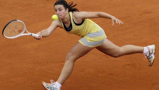 Sevastova nepabeidz Tokijas WTA 'Premier' turnīra pirmās kārtas cīņu