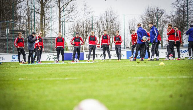 Latvijas U-21 futbola izlasei piemēro pašizolāciju; LFF ar UEFA atbalstu risina šo jautājumu